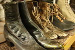 Vintage boots, Old Mill Village, New Milford Pennsylvania