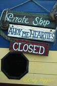 Beachside sign