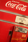 The old coke machine