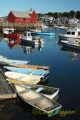 Harbor in Rockport Massachusetts