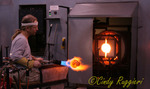 Corning Museum of Glass, glass blowing demonstration