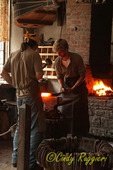The Blacksmith Shop at the Farmer's Museum, Cooperstown, New York