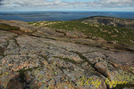 Granite Formations on Cadillac Mountain, Acadia National Park, Maine