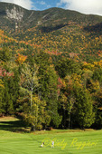 Ausable Club Golf Course, St. Huberts, New York, Adirondacks High Peaks Region, view of Great Mountain