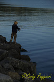 Fishing on Seneca lake, Watkins Glen NY