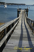 Pier in Southwest Harbor, Mount Desert Island, Maine