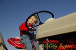Sitting on Grandpa's Tractor