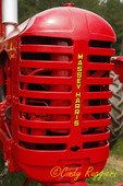 Vintage Tractor, Massey Harris Grill