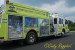 Firetruck with 911 Murals