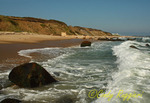 Block Island shoreline, Rhode Island