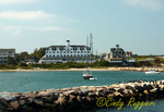 Block Island, view of National Hotel, Rhode Island