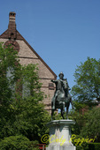 Brown University, Statue of Marcus Aurelius, located on Lincoln Field