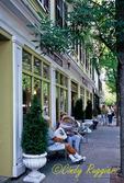 Street Scene, Bristol Rhode Island