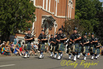 Bagpipes at the Strawberry Festival Parade, Owego New York