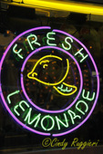 Neon Lemonade Sign
