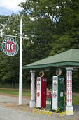Restored Gas Station, Warren Center, PA