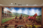 Mural at Tioga Downs, Nichols New York