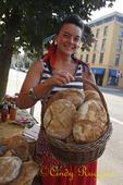 Fresh Bread at the Farmer's Market, Owego NY