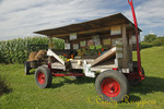 Roadside organic farm stand