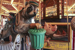 Carousel - Farmer's Museum, Cooperstown NY, featuring New York State animals
