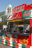 Pizza Stand at the Carnival
