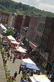Owego Strawberry Festival Street Scene, Owego NY