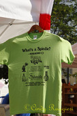 Spiedie T-shirt, regional food of upstate New York