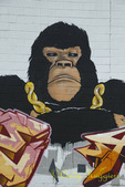 Fierce Gorilla Mural