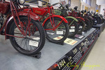Yearly progression of classic Indian Motorcycles, Motorcyclepedia Museum, Newburgh New York