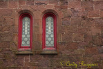Weathered building and windows