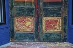 Painted Peeling Doors