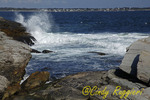 Coastline off Beavertail Lighthouse, Jamestown Rhode Island