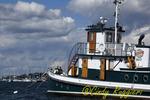 Tugboat in Newport Rhode Island harbor
