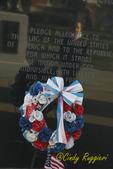 Pledge of Allegiance at Veteran's Memorial