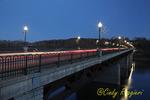 Twilight over the Susquehanna River, Owego New York