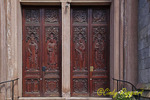 Doors at St. Stephen's Church, George Street, Providence Rhode Island