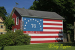 Maine New York, Flag mural