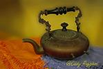 Old Brass Teapot