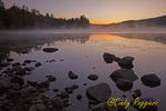 Sunrise over Franklin Falls Pond, Essex County, Adirondack Region NY