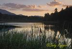 Sunset over Lake Everest, Essex County, Adirondack region, NY