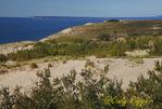 Sleeping Bear Dunes National Lakeshore, Michigan; overlooking Lake Michigan