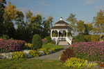 Gazebo and Gardens on Mackinac Island, MI