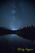 Milky Way over Lake Everest, Essex County, Adirondack region, NY
