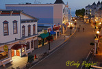 Main Street, Mackinac Island Michigan, early morning