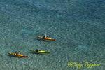Kayakers on Lake Michigan