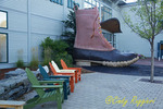 The LL Bean Boot, Freeport Maine