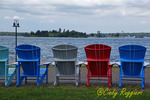 St. Lawrence River, view from Clayton NY, Thousand Islands region