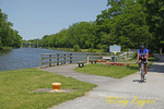 Erie Canal and bike path, Great Embankmant Park, Pittsford NY