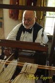 Weaver at the Farmer's Museum, Cooperstown, New York