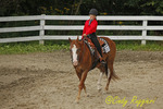 Smiles at the horseback riding competition